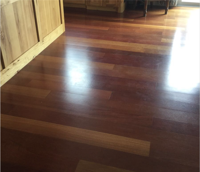 How to save a wood floor? After