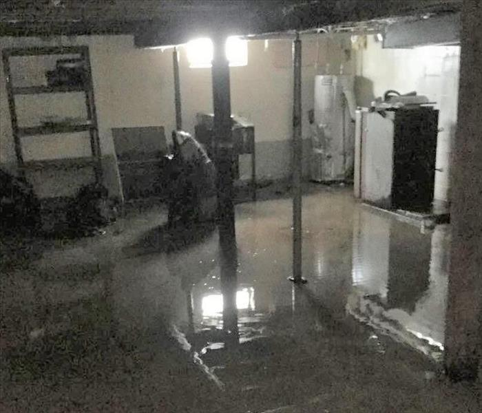 Standing Water in Basement